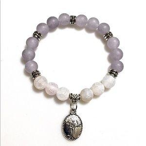 Jewelry - Tree Of Life Natural Stone Charm Bracelet
